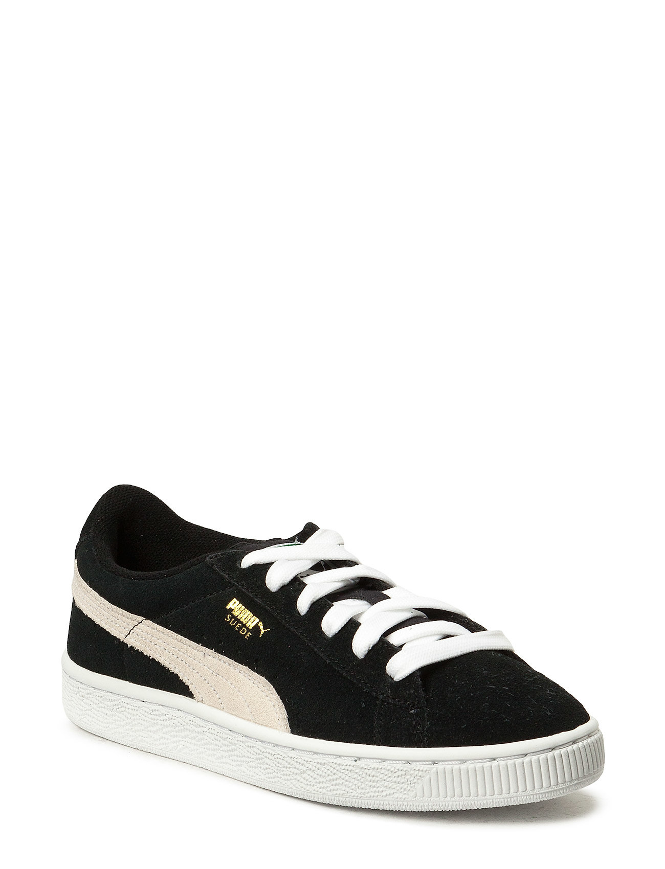 PUMA Suede Jr - BLACK-WHITE