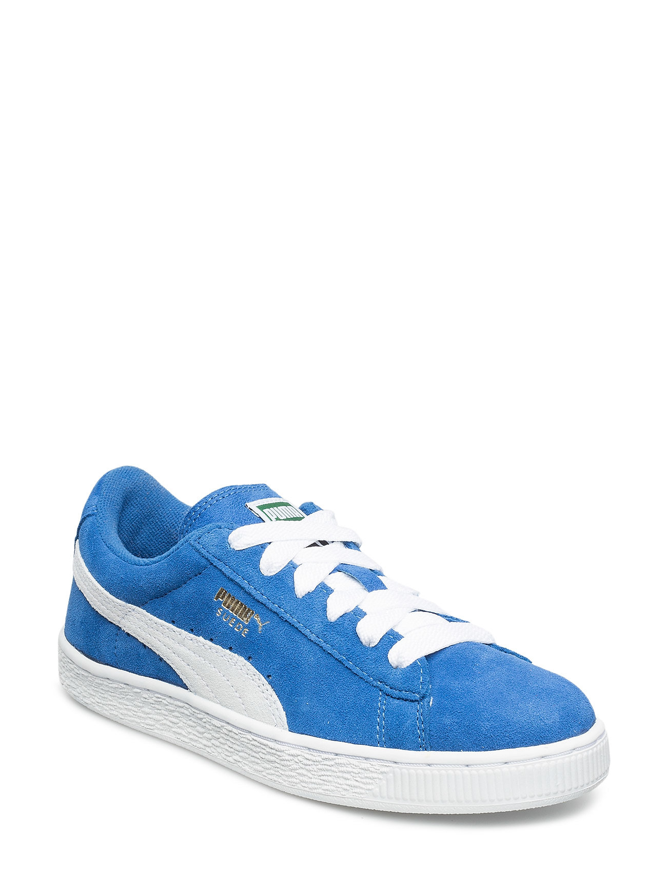 PUMA Suede Jr - SNORKEL BLUE-WHITE