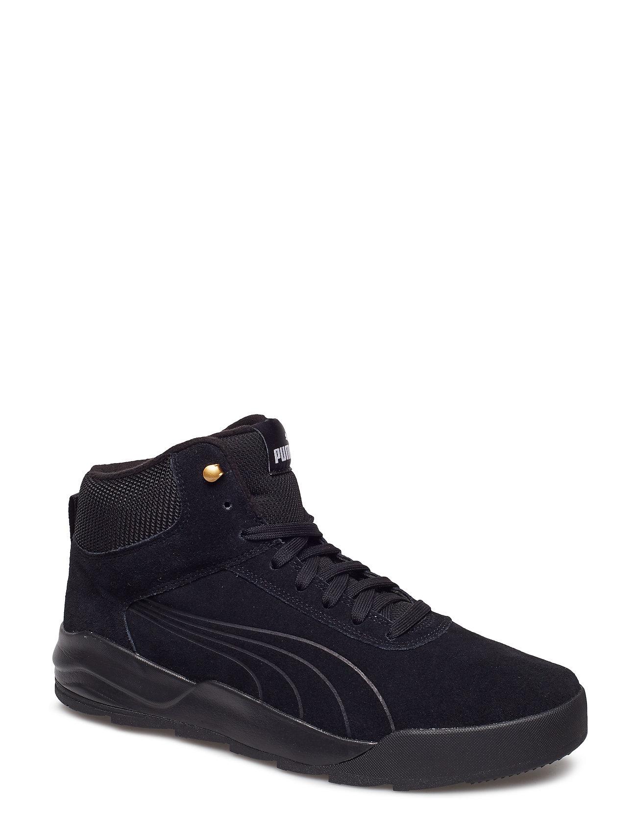 PUMA Desierto Sneaker (Puma Black-puma Black) 2a98d2c71