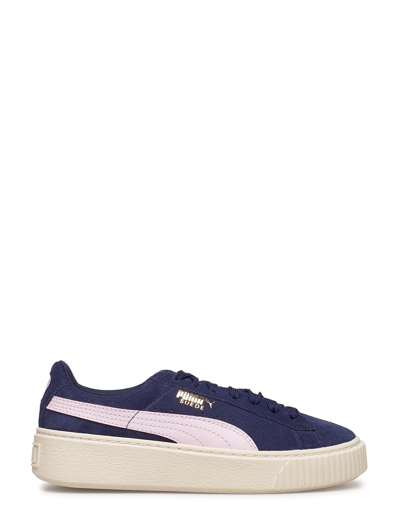 784c691da15 Suede Platform Snk Jr sneakers fra PUMA til børn i DUSTY CORAL ...