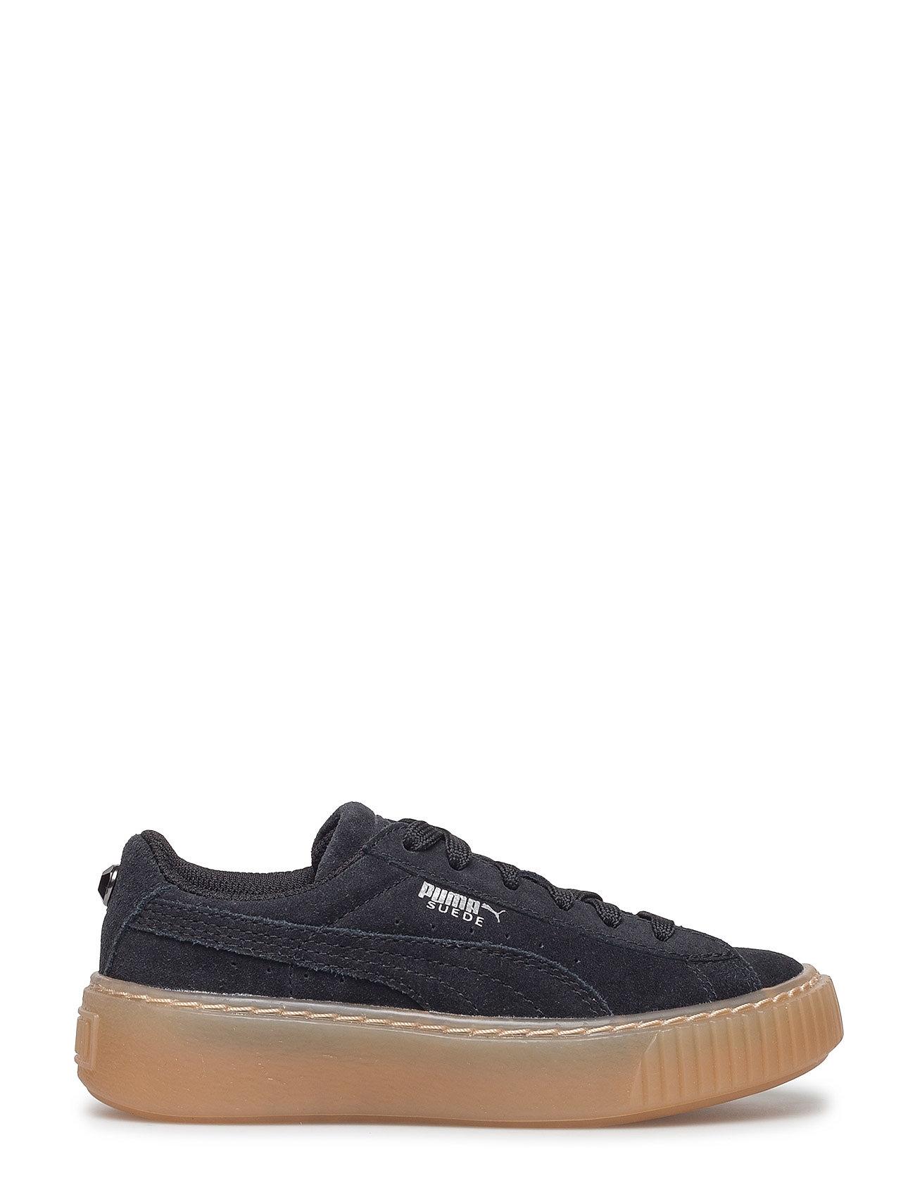 Suede Platform Jewel Ps Sneakers Sko Sort PUMA