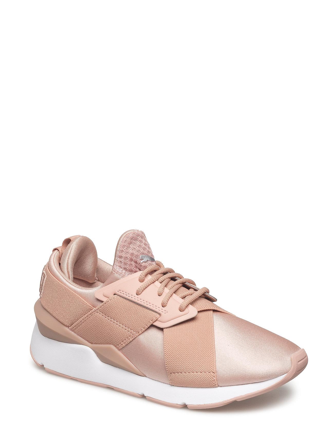Køb Puma Damer Muse Satin II Sneakers Vinrød