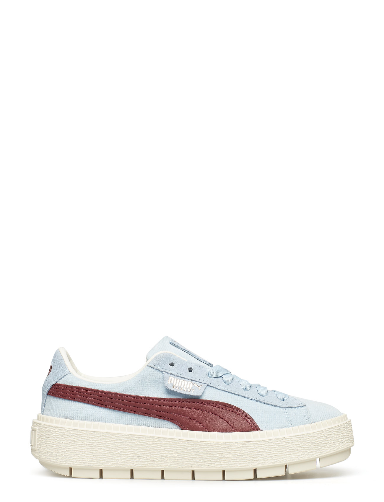 Platform Trace Corduroy Wns Low top Sneakers Hvid PUMA