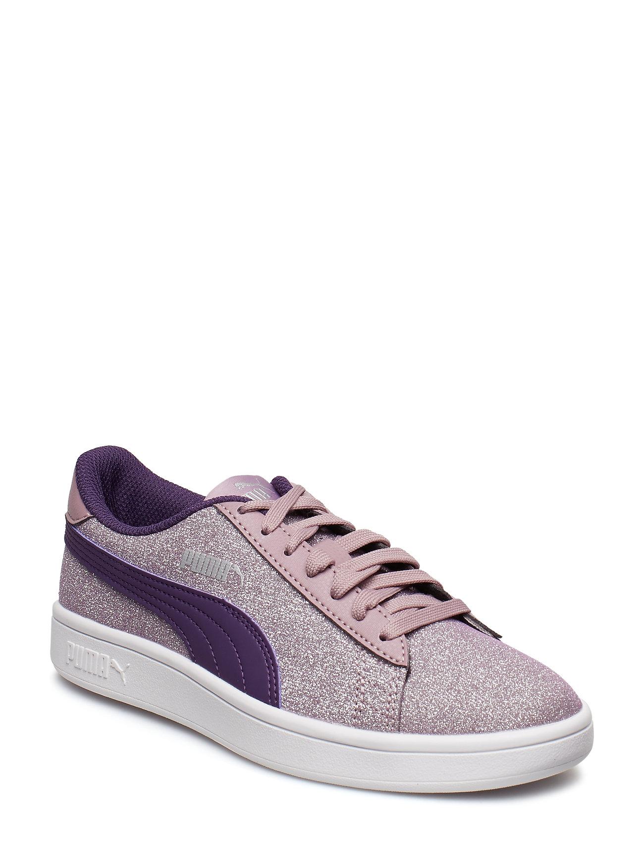 ed3726da4553 Puma Smash V2 Glitz Glam Jr sneakers fra PUMA til børn i PUMA BLACK ...