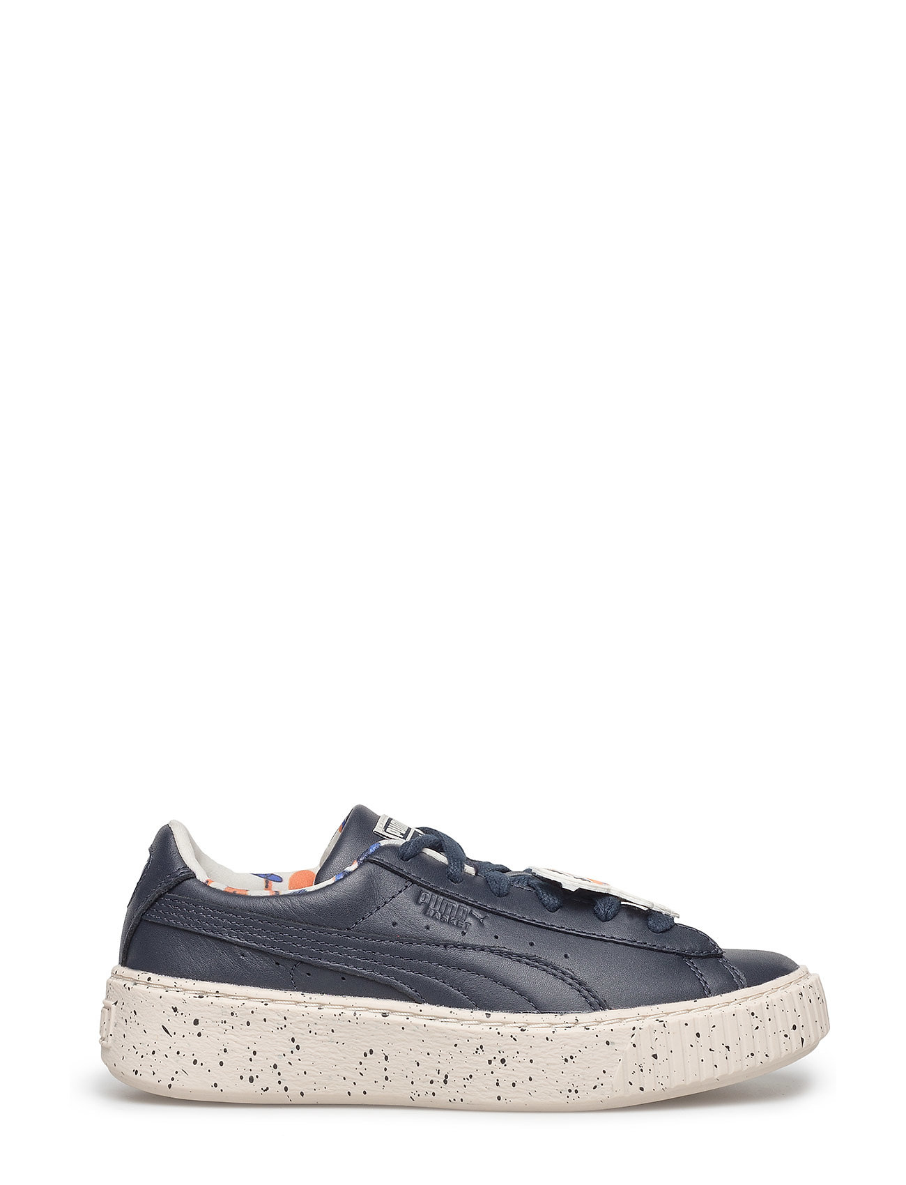 Puma Suede Platform Speckled Black Cool Sneakers