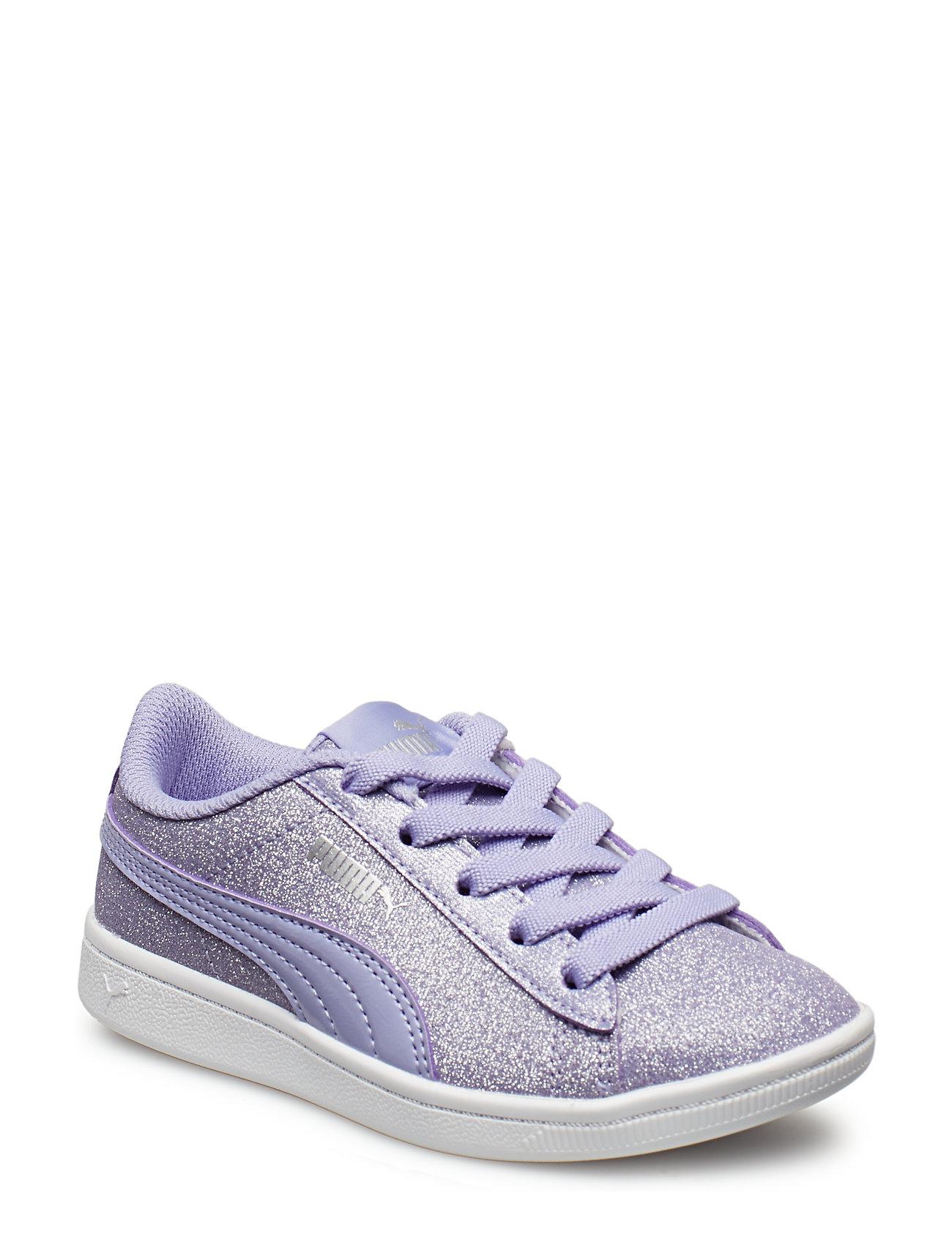 ab2a74718 Puma Vikky Glitz Ac Ps (Sweet Lavender-sweet Lavender) (£33) - PUMA ...