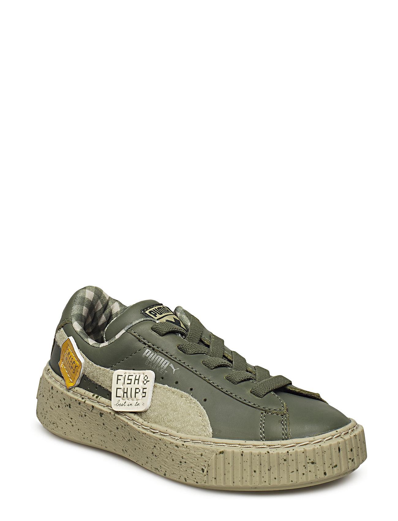 Puma X Tc Suede Ldn Ac Ps Sneakers Sko Orange PUMA
