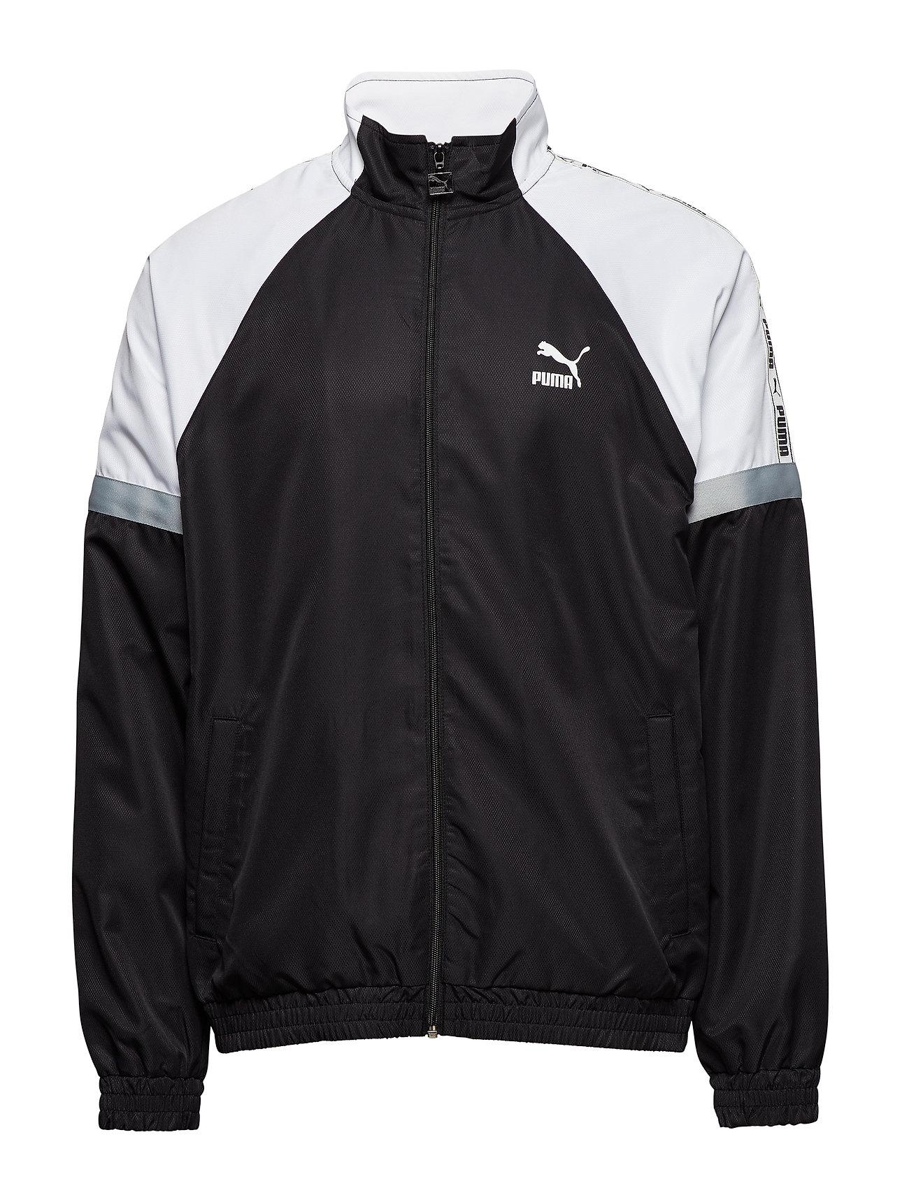 PUMA PUMA XTG Woven Jacket - PUMA BLACK-PUMA WHITE