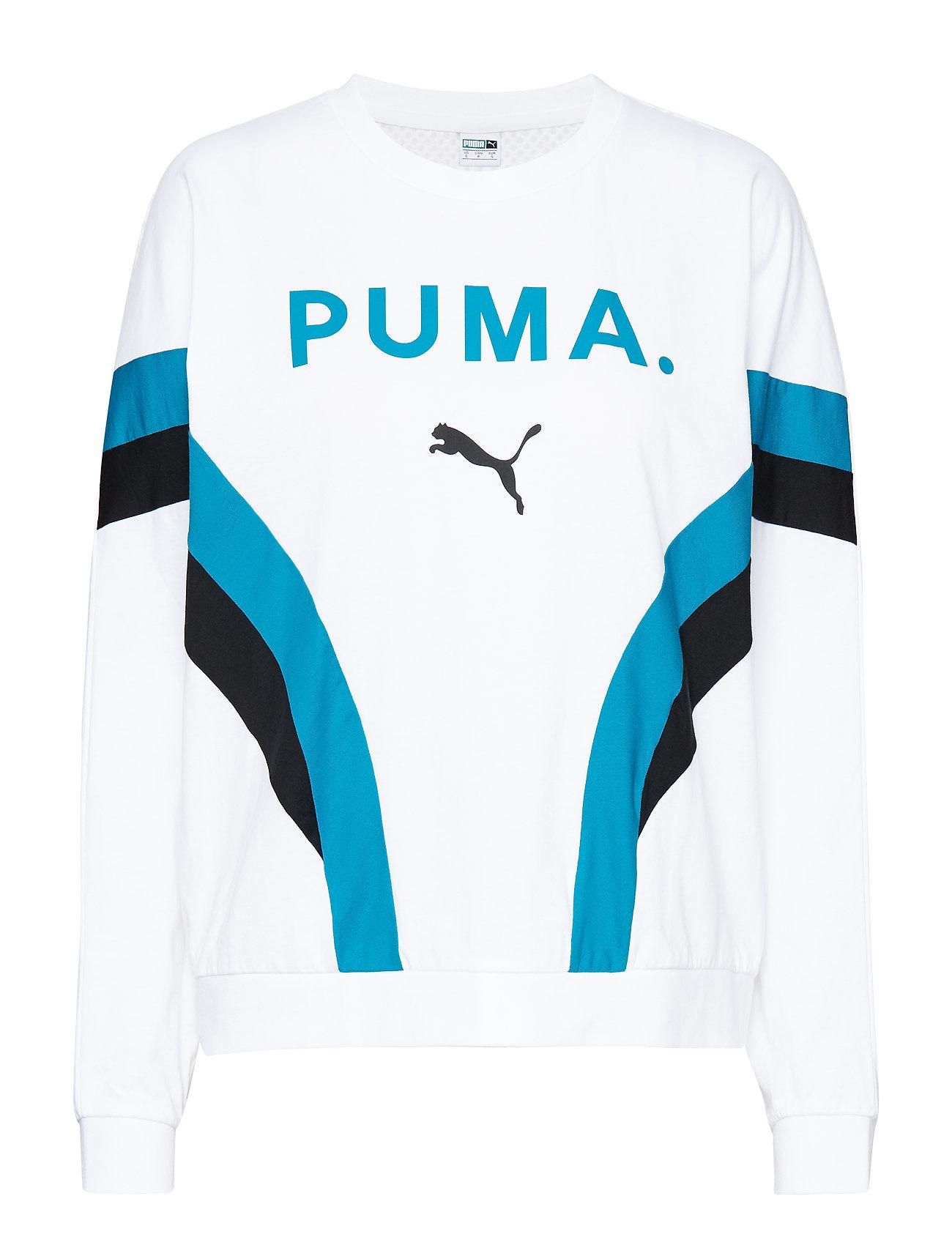 PUMA Chase Long Sleeve Top - PUMA WHITE