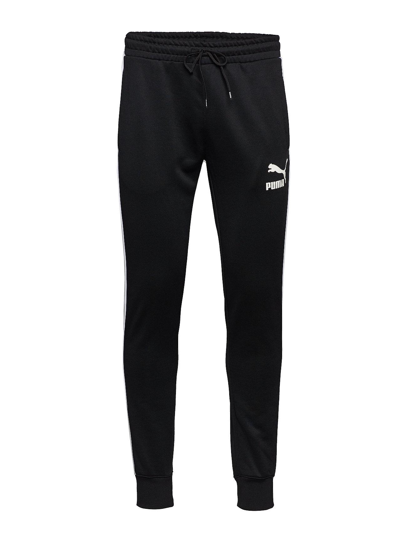 30da1ce1 PUMA BLACK PUMA Iconic T7 Track Pants Pt bukser for herre - Pashion.dk