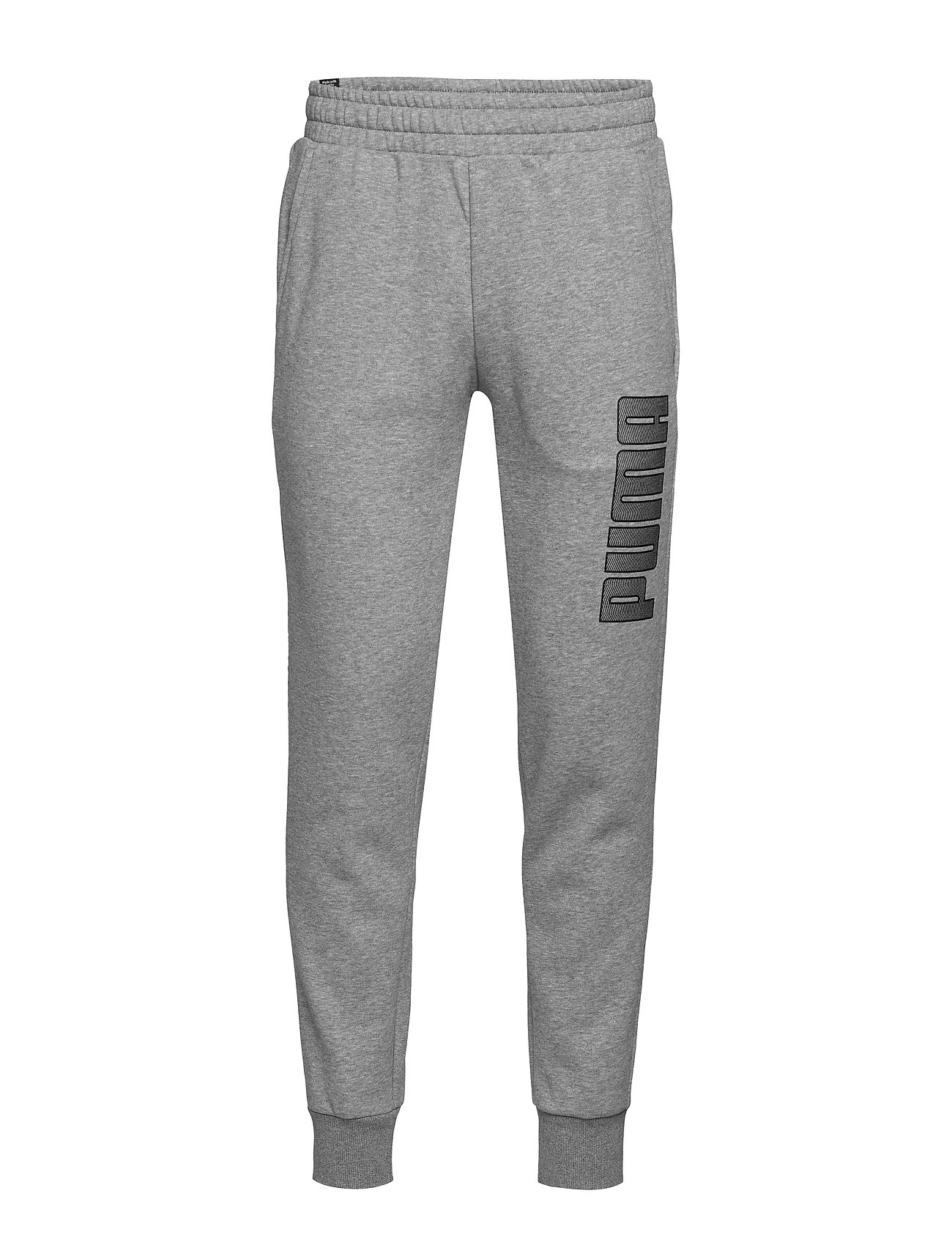 PUMA KA Pants FL cl - MEDIUM GRAY HEATHER