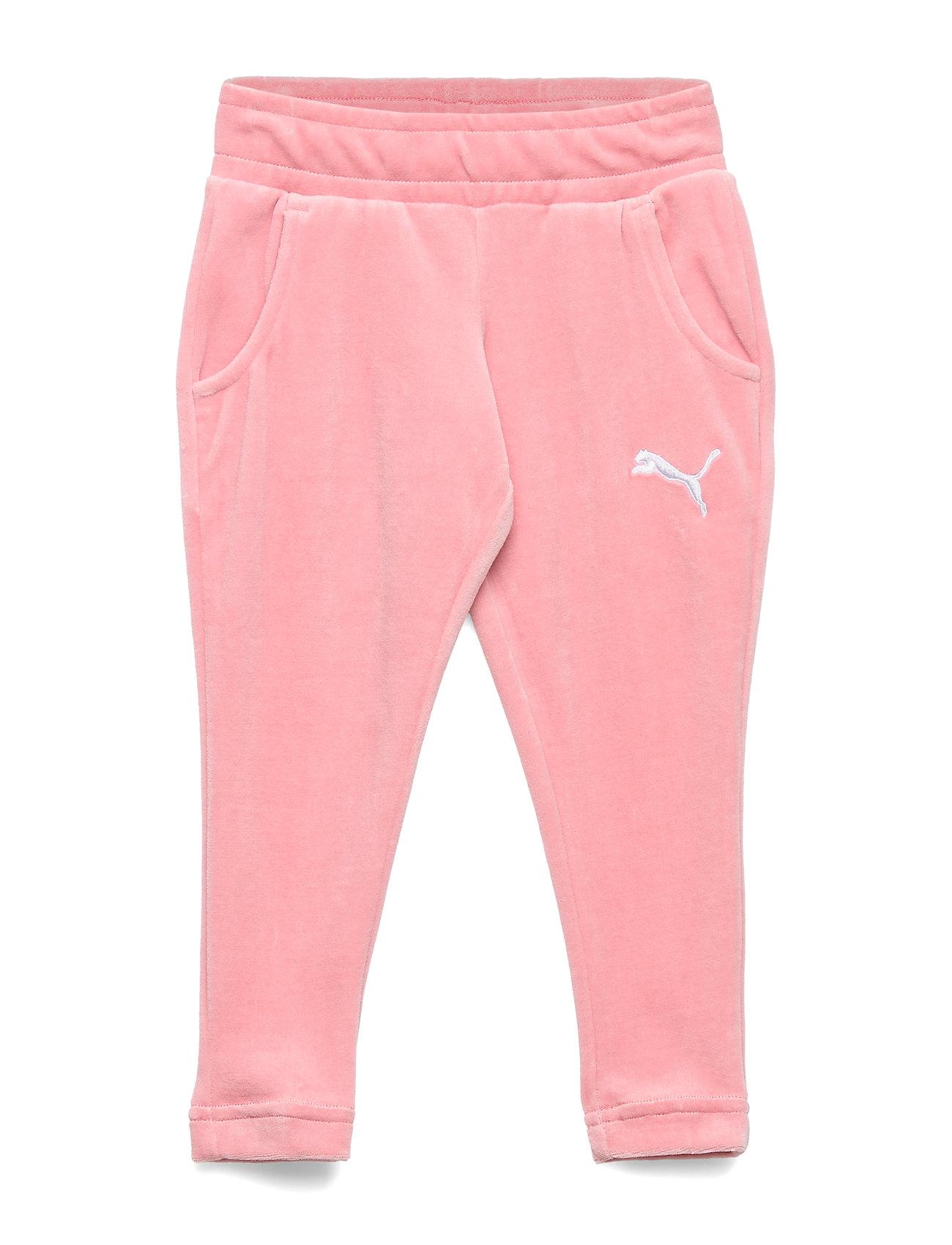 PUMA Alpha Velvet Pants G - BRIDAL ROSE