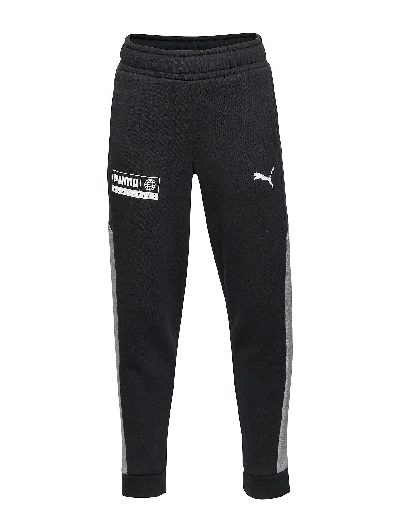 PUMA Alpha Sweat Pants FL B - PUMA BLACK