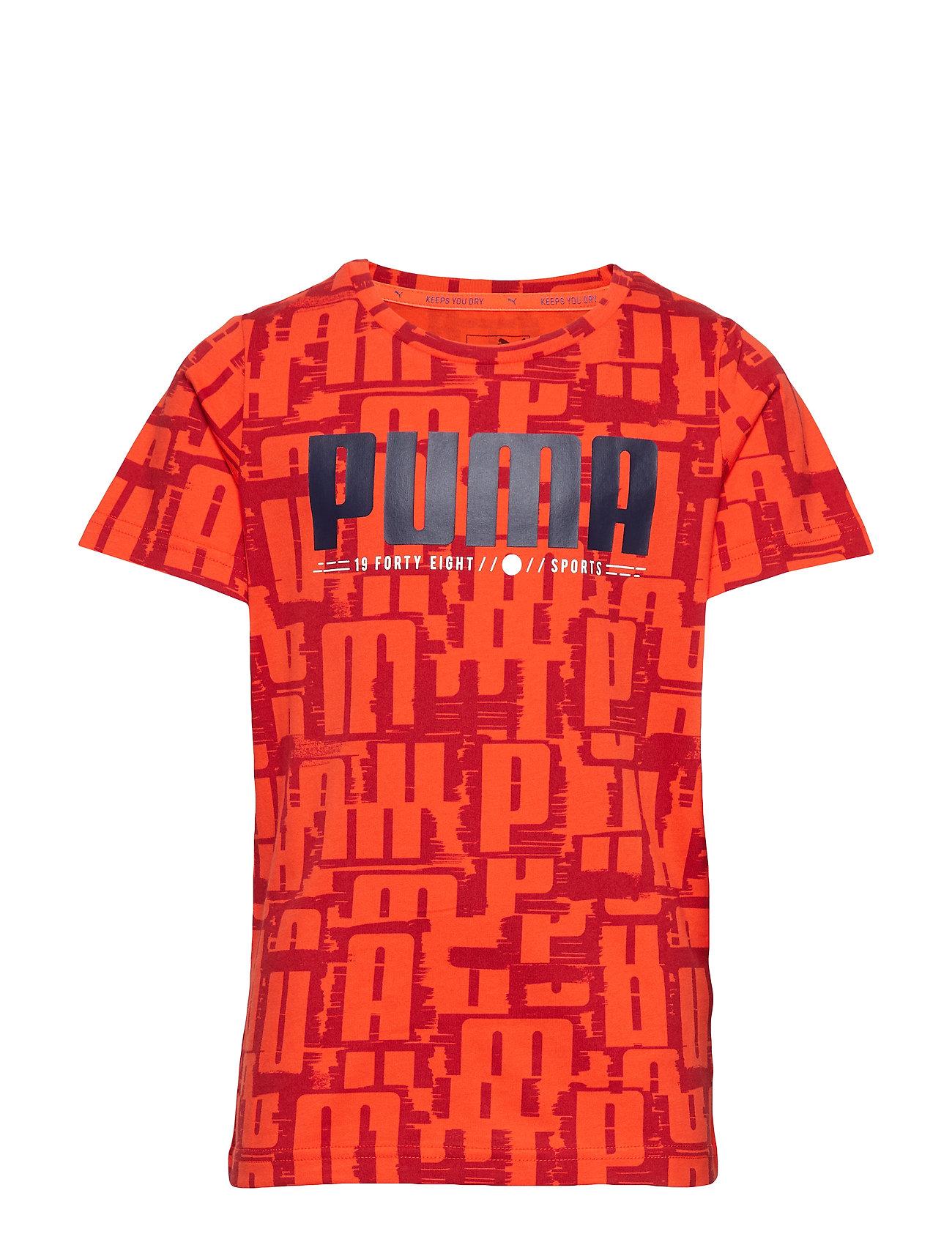 Active Sports Aop Tee B T-shirts Short-sleeved Oranssi PUMA