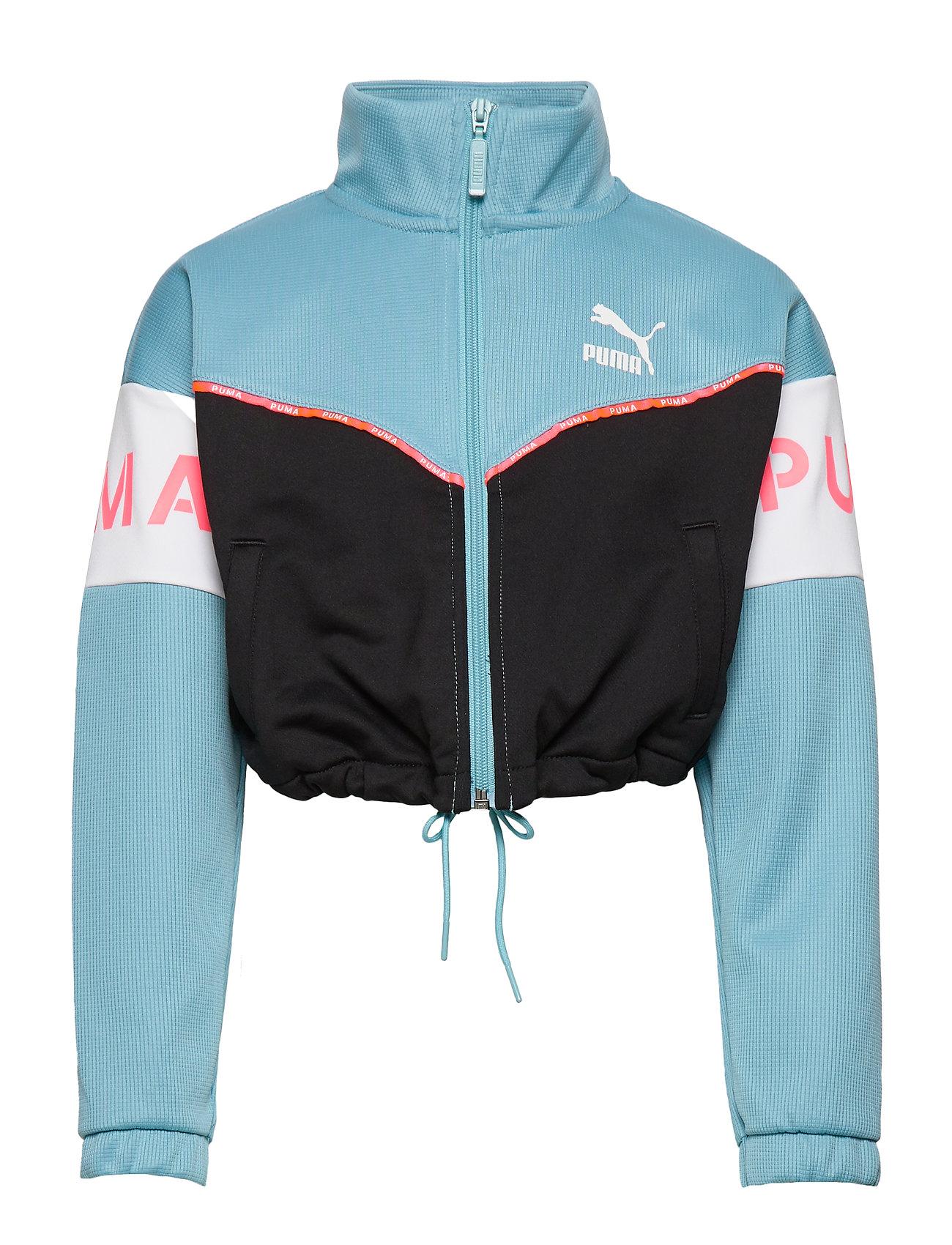 PUMA XTG Track Jacket G - MILKY BLUE