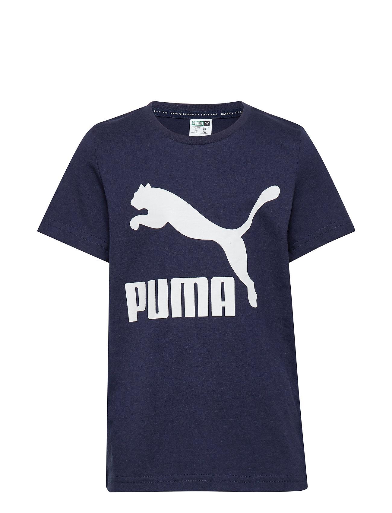 PUMA Classics Logo Tee B - PEACOAT