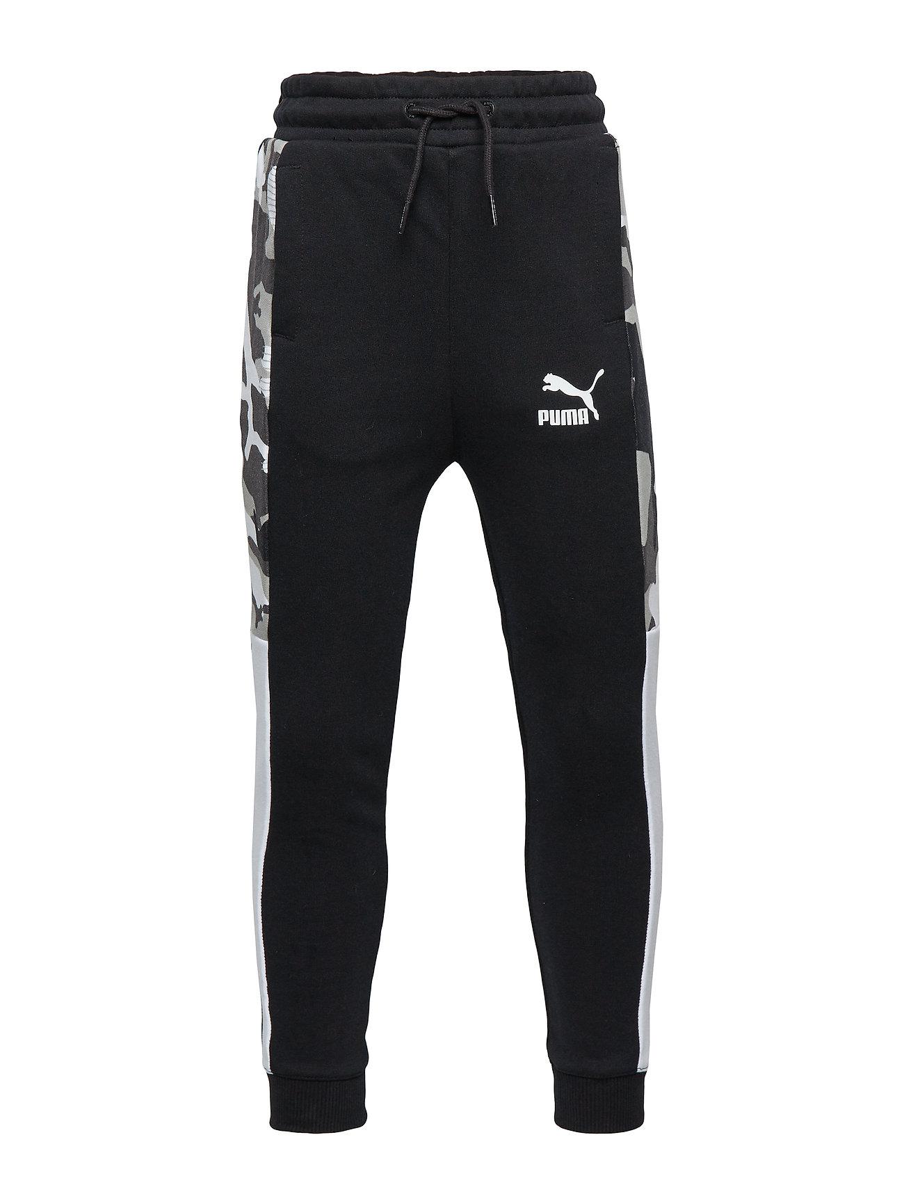 PUMA Classics T7 AOP Track Pants TR B - PUMA BLACK