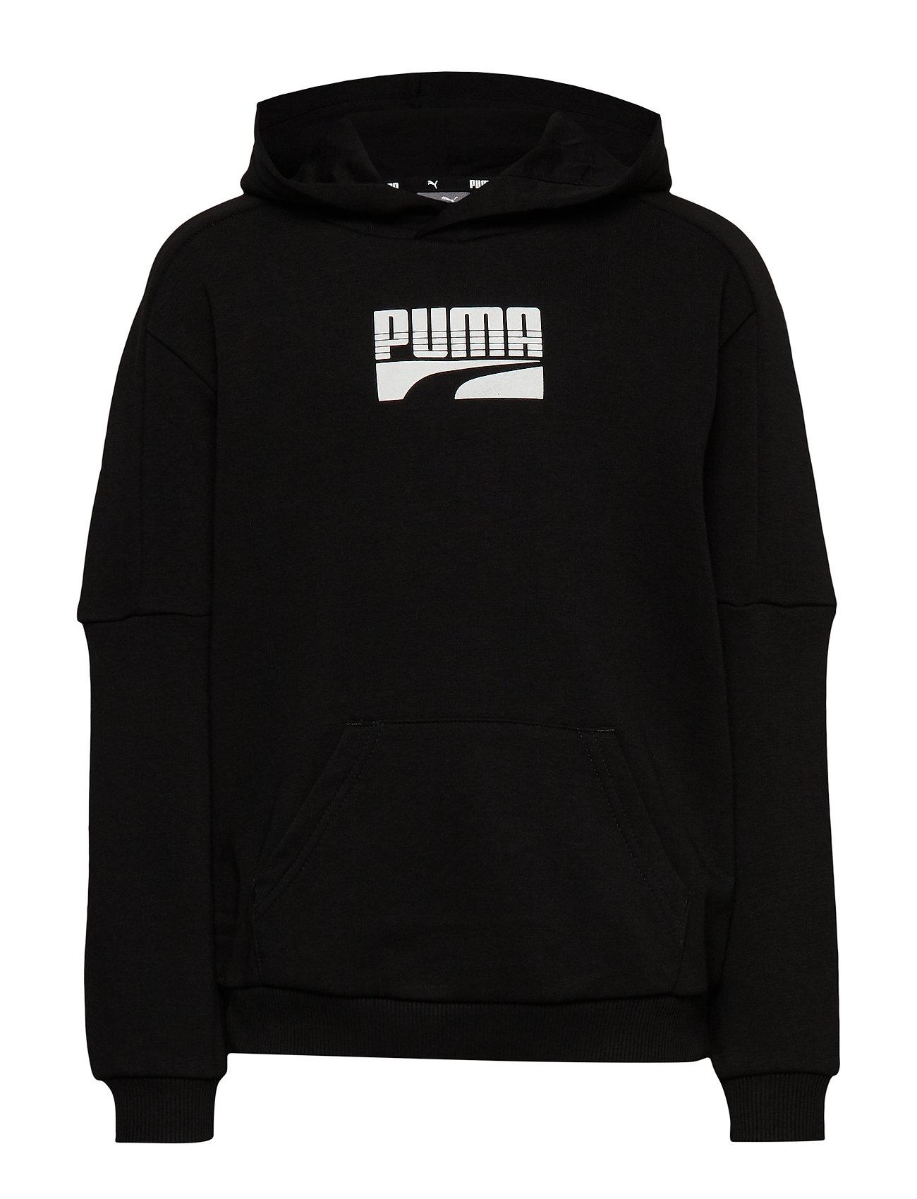 PUMA Rebel Block Hoody TR B - PUMA BLACK