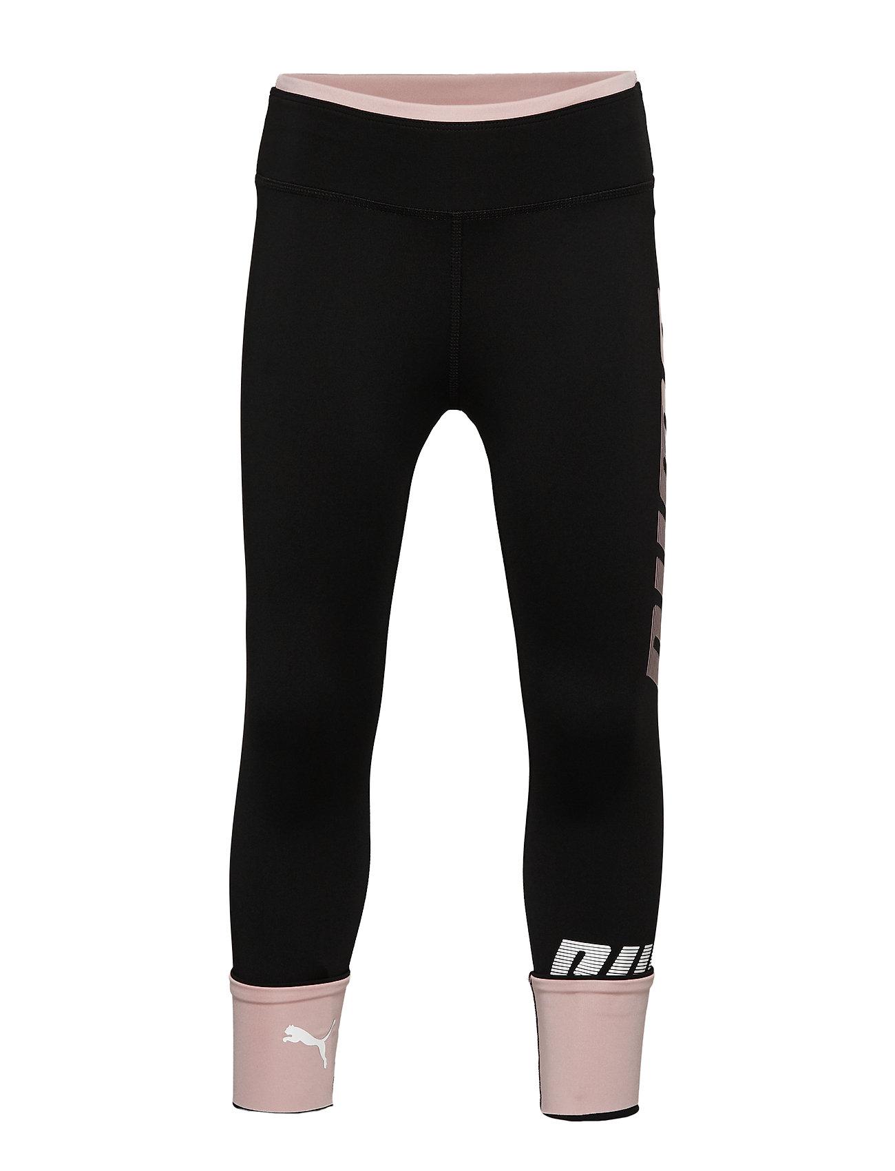 PUMA Modern Sport Leggings G - PUMA BLACK-BRIDAL ROSE