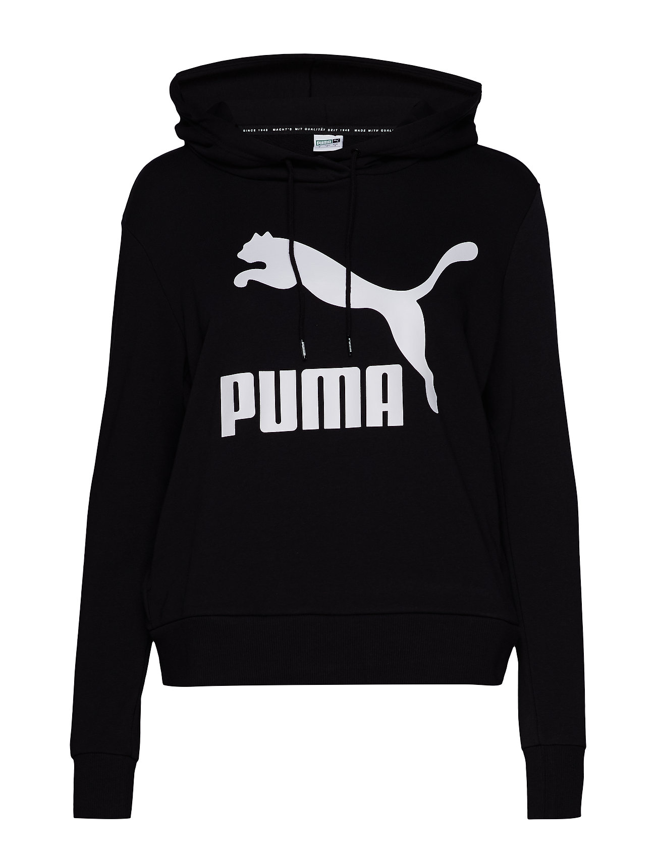 PUMA Classics Logo Hoody - PUMA BLACK