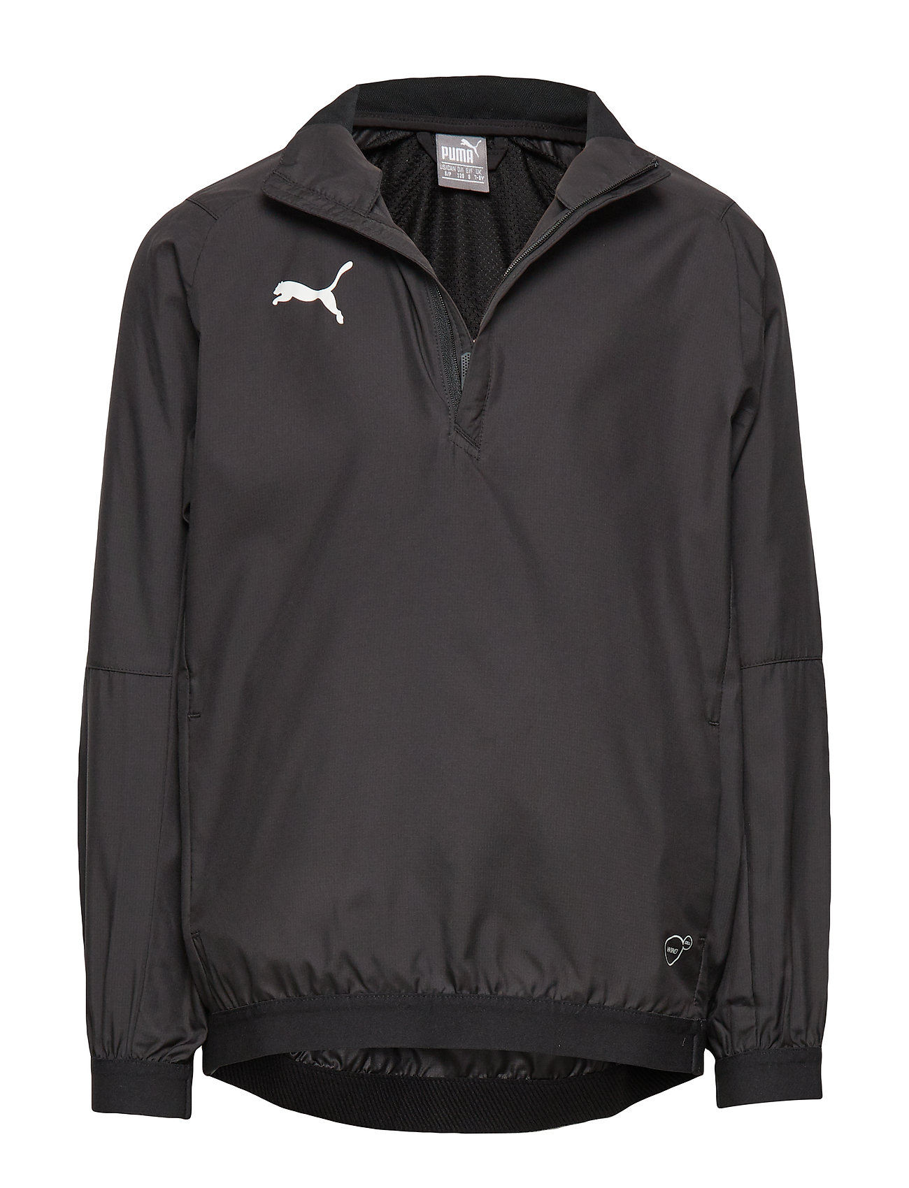PUMA LIGA Training Windbreaker Jr - PUMA BLACK-PUMA WHITE