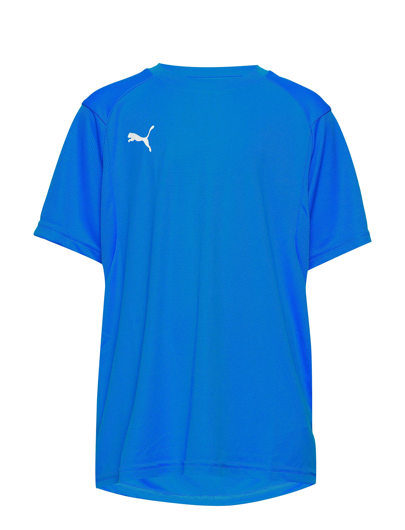 PUMA LIGA Training Jersey Jr - ELECTRIC BLUE LEMONADE-PUMA WHITE