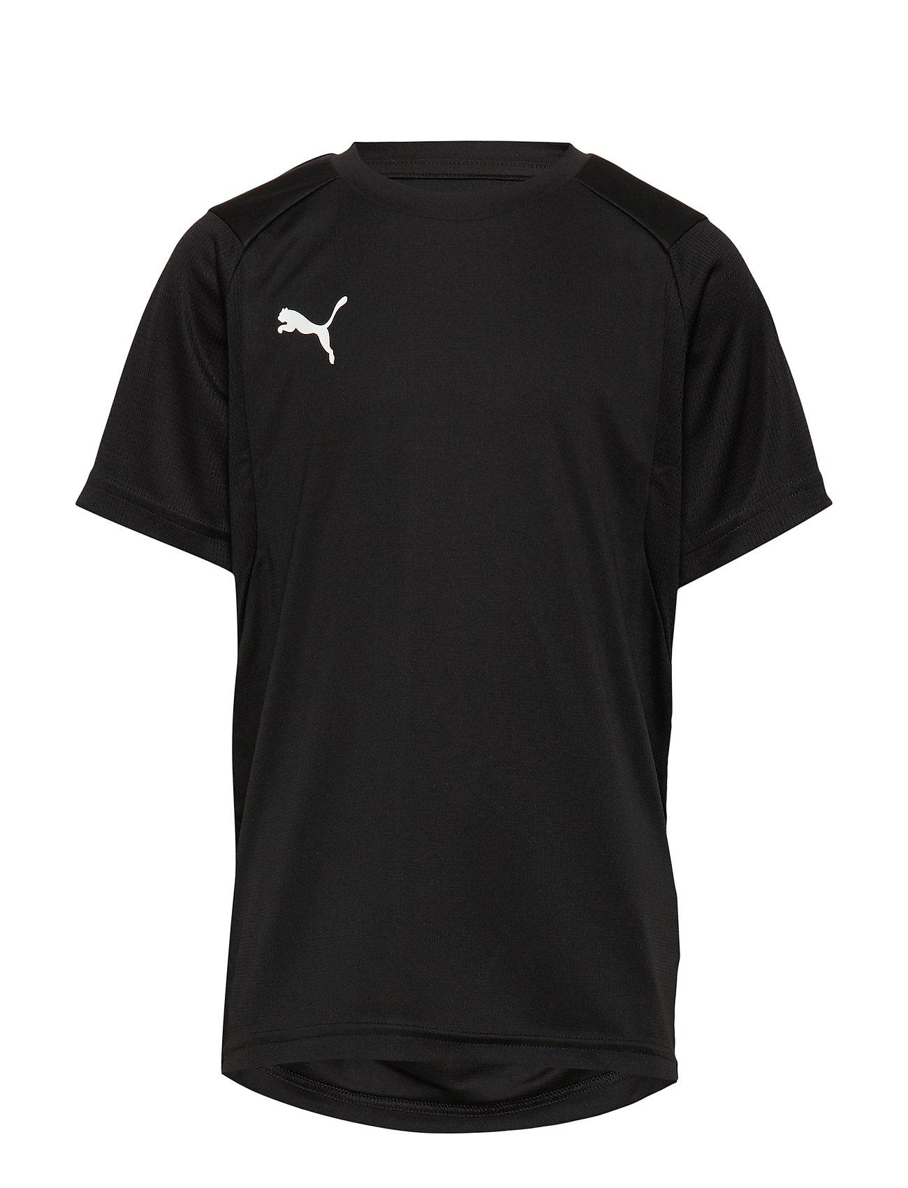 PUMA LIGA Training Jersey Jr - PUMA BLACK-PUMA WHITE