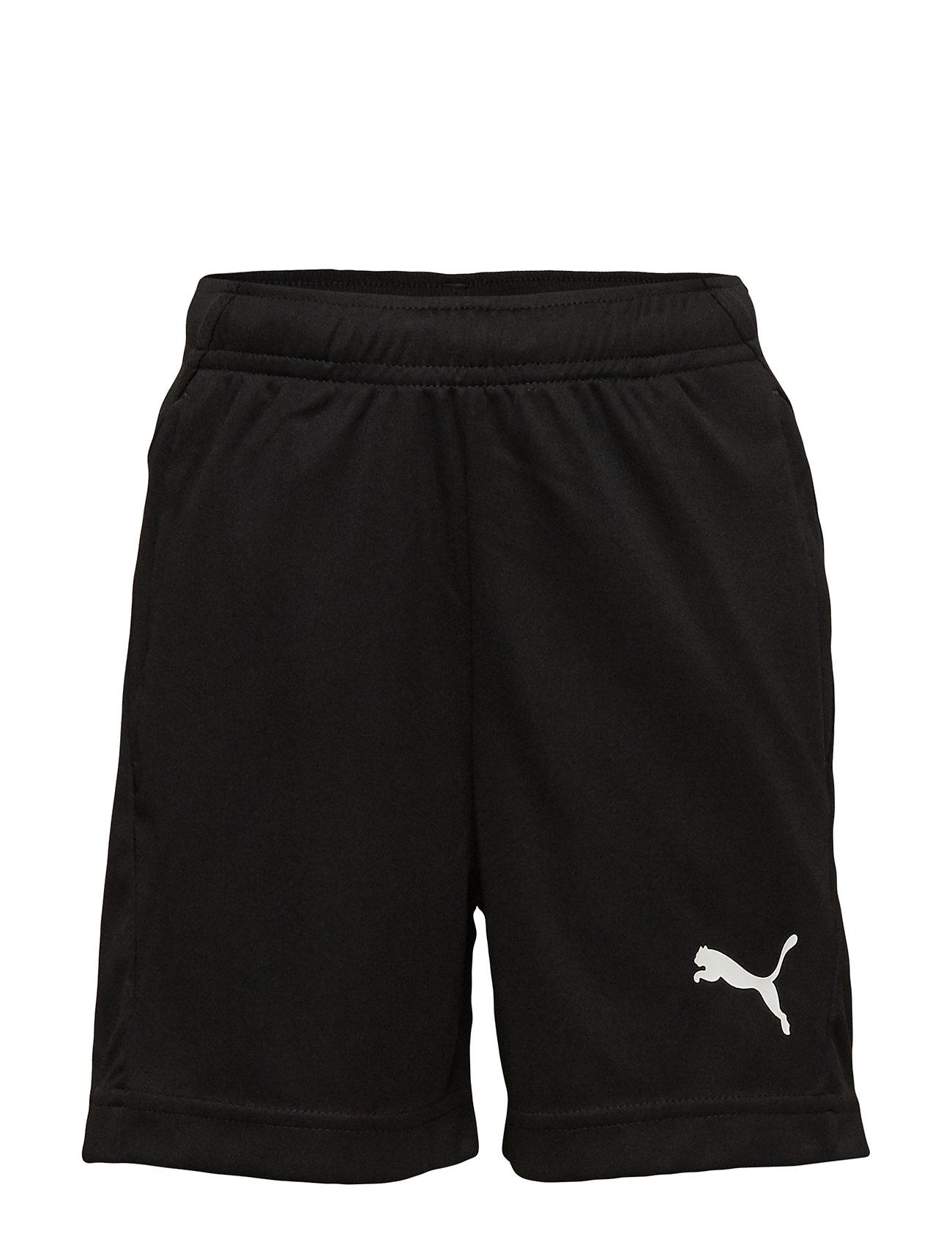 PUMA LIGA Training Shorts Jr - PUMA BLACK-PUMA WHITE