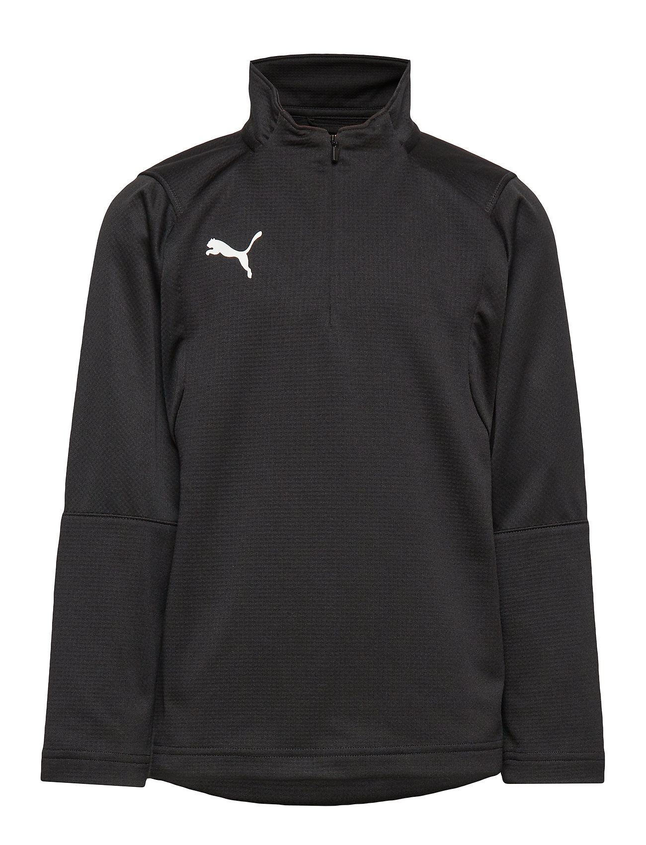 PUMA LIGA Training 1/4 Zip Top Jr - PUMA BLACK-PUMA WHITE
