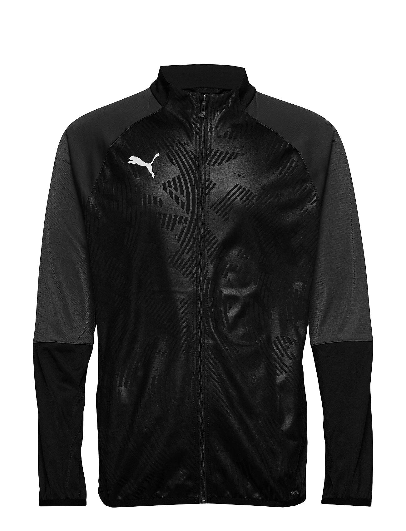 PUMA CUP TRG Poly Jacket Core - PUMA BLACK-ASPHALT