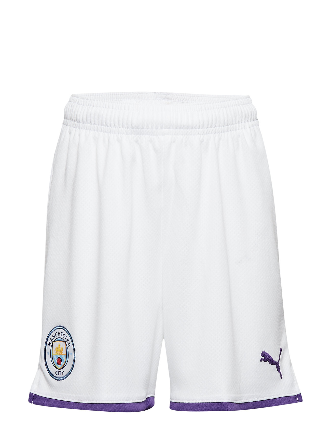 PUMA MCFC Shorts Replica Jr - PUMA WHITE-TILLANDSIA PURPLE