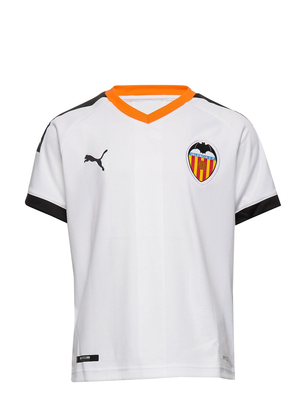 PUMA Vcf Home Shirt Replica Jr (Puma White-puma Black-vibrant ...