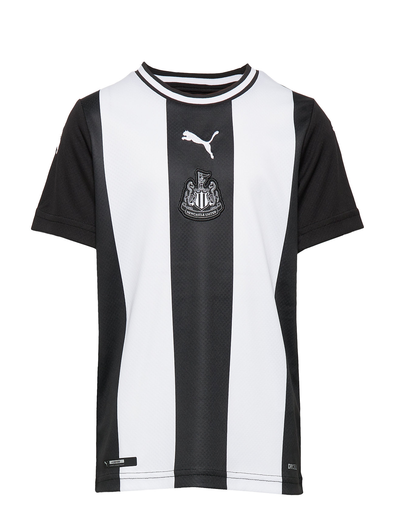 PUMA NUFC HOME Shirt Repl JR SS withOUT sponsor - PUMA WHITE-PUMA BLACK