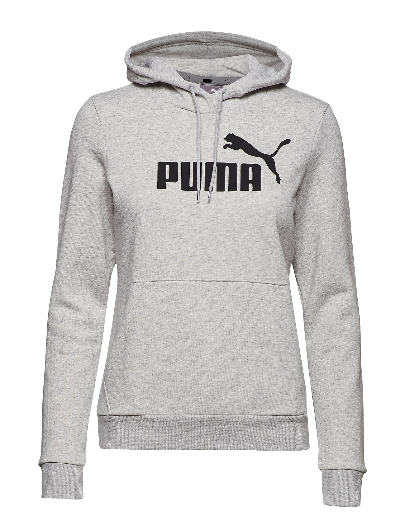 Puma ESS Logo Hoody Light Grey