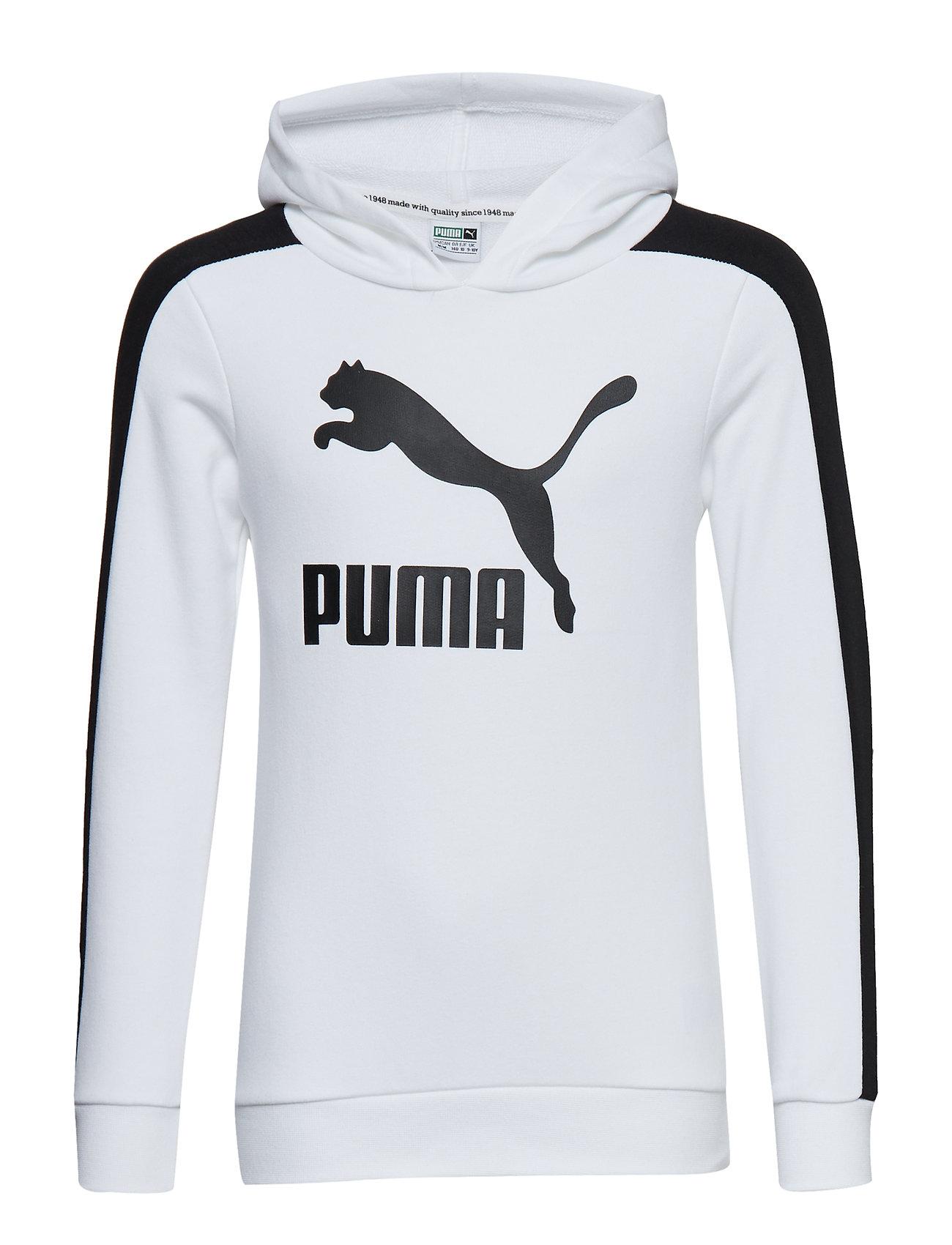 9a9a6ccb219 Classics T7 Hoody G hoodies fra PUMA til børn i PALE PINK - Pashion.dk