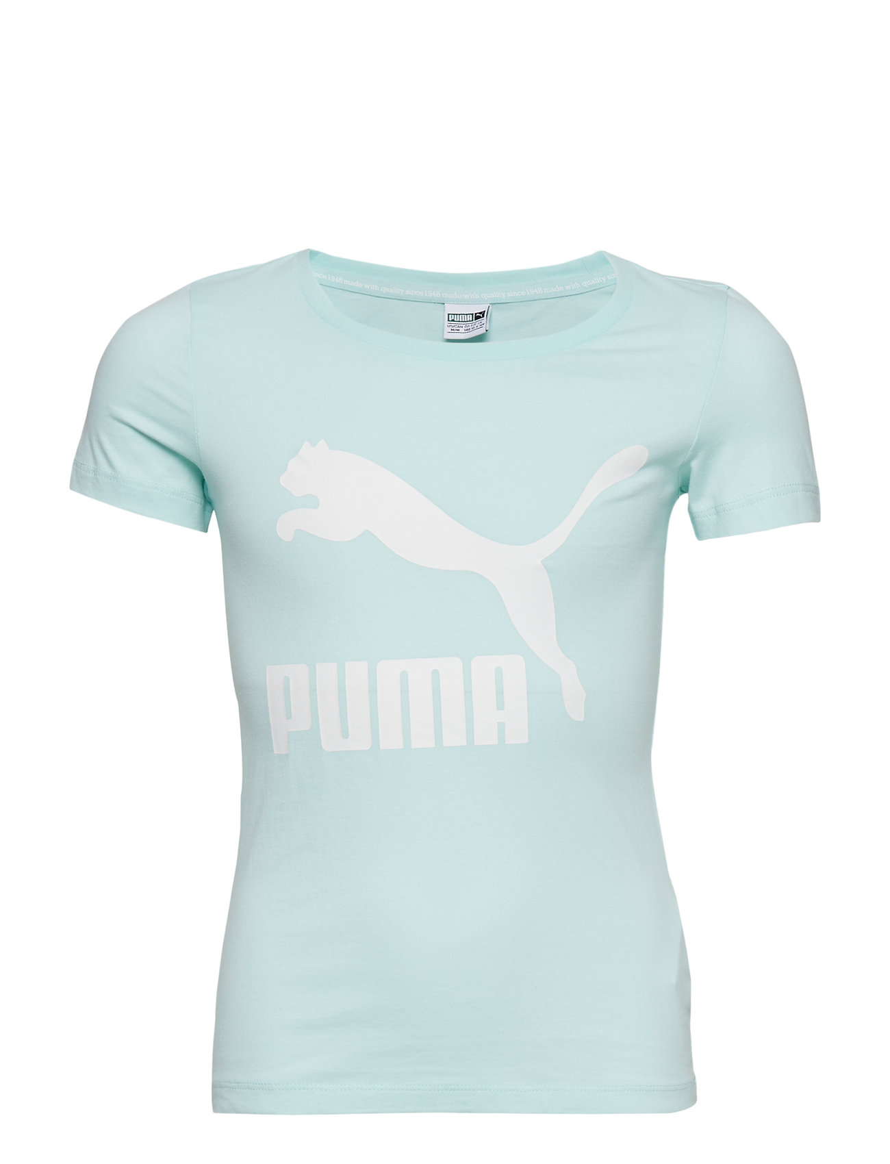 PUMA Classics Logo Tee G - FAIR AQUA