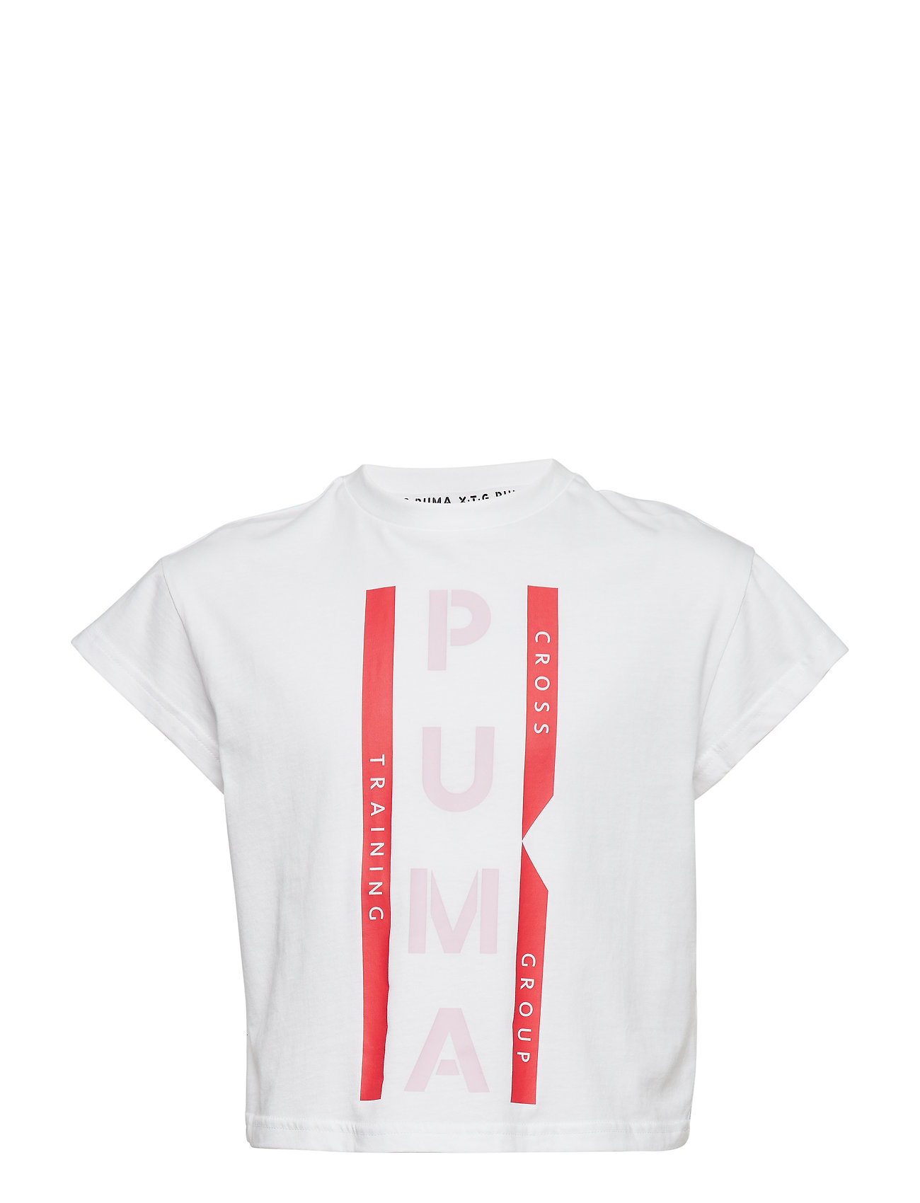 PUMA PUMA XTG Graphic Tee G - PUMA WHITE