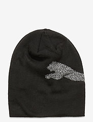PUMA - Ess Logo Beanie Jr - huer - puma black-big cat - 0