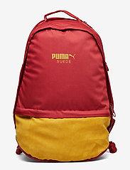 PUMA - Puma Suede Backpack - torby treningowe - red dahlia - 0