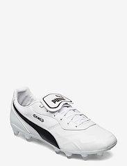 PUMA - KING Top FG - fotbollsskor - puma white-puma black-puma white - 0