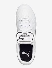 PUMA - KING Top FG - fotbollsskor - puma white-puma black-puma white - 3