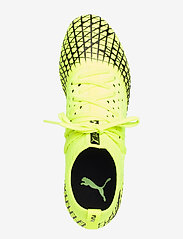 PUMA - FUTURE 4.2 NETFIT FG/AG - jalkapallokengät - yellow alert-puma black - 3