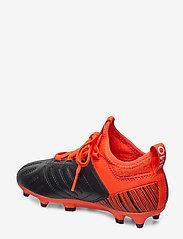 PUMA - PUMA ONE 5.3 FG/AG Jr - buty sportowe - puma black-nrgy red-puma aged silver - 2
