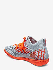 PUMA - FUTURE 4.3 NETFIT IT - jalkapallokengät - glacial blue-nrgy red-high risk red - 2