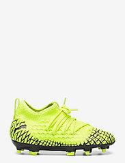 PUMA - FUTURE 4.3 NETFIT FG/AG Jr - buty piłkarskie - yellow alert-puma black - 1