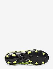 PUMA - FUTURE 4.3 NETFIT FG/AG Jr - buty piłkarskie - yellow alert-puma black - 4