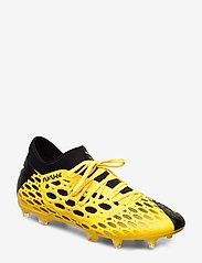 PUMA - FUTURE 5.3 NETFIT FG/AG - jalkapallokengät - ultra yellow-puma black - 0