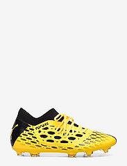 PUMA - FUTURE 5.3 NETFIT FG/AG - jalkapallokengät - ultra yellow-puma black - 1