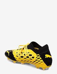 PUMA - FUTURE 5.3 NETFIT FG/AG - jalkapallokengät - ultra yellow-puma black - 2