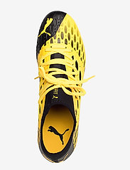 PUMA - FUTURE 5.3 NETFIT FG/AG - jalkapallokengät - ultra yellow-puma black - 3
